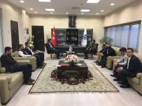 ALI ÖZCAN - ASKON'dan KAYSO Başkanı Büyüksimitçi'ye Ziyaret