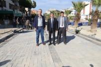 KANALİZASYON ÇALIŞMASI - Başkan Şirin'den Prestij Caddelerinde İnceleme