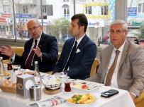 TERMİK SANTRAL - Belediye Başkanları Basın Mensuplarıyla Kahvaltıda Buluştu