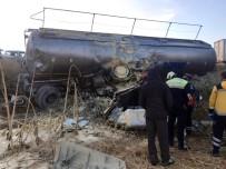 Bitkisel Yağ Taşıyan Tanker Şarampole Yuvarlandı Açıklaması 1 Ölü