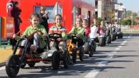 TRAFİK EĞİTİM PARKI - Çocuk Trafik Eğitim Parkında Günde 100 Çocuk Eğitim Görüyor