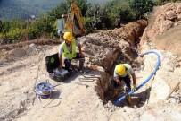 ŞEBEKE HATTI - Değirmendere'nin İçme Suyu Şebekesi Yenilendi