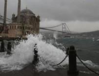 MARMARA DENIZI - Denizlerde fırtına uyarısı