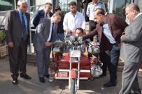 ENGELLİ VATANDAŞ - Engelli Vatandaşa, Özel Tasarlanmış Motosiklet