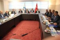 ALI KABAN - FKA Ekim Ayı Yönetim Kurulu Toplantısı Malatya'da Yaptı