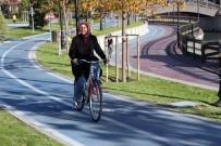 GÜMÜŞDERE - Gümüşdere'de Bisiklet Keyfi