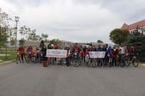 AFYON KOCATEPE ÜNIVERSITESI - İki Tekerlekli Taşıt Bisiklet Turu Etkinliği Yoğun İlgi Gördü