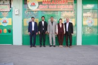 MUŞLU - İMSİAD Heyetinden Malazgirt'e Ziyaret