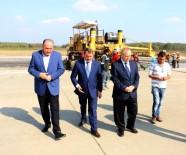 APRON - Köktaş Açıklaması 'Havaalanındaki Çalışmalar Zamanında Tamamlanacak'