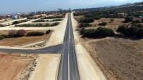KARAHASANLı - Merkezefendi'den 3 Mahalleyi Birbirine Bağlayan Yol Tamamlandı