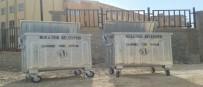 Nusaybin'e 50 Adet Çöp Konteynırı Yerleştirildi