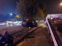 Sahil Yolunda Makas Atan Sürücü Dehşeti Açıklaması 5 Yaralı