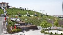 ESKIKÖY - Pursaklar'da Ertuğrul Gazi Parkı Rengarenk Oldu