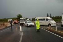 SEL BASKINI - Sağanak Yağış Trafiği Vurdu