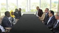 KARATAY ÜNİVERSİTESİ - Ugandalı Bakan Hon Kibuule Ronald, KTO Başkanı Öztürk İle Görüştü