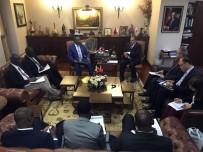 UGANDA - Bakan Eroğlu, Uganda Sudan Sorumlu Devlet Bakanı Ronald İle Bir Araya Geldi