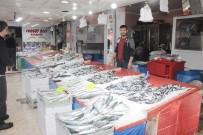 ALABALIK - Balık Tezgahları Balık Çeşitleri İle Doldu