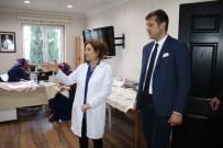 TÜRKAN SAYLAN - Başkan Akay, Kültür Sanat Kurslarını Gezdi