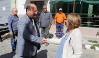 MESUT ÖZAKCAN - Başkan Özakcan Katıldığı Aşure Hayrında Vatandaşlarla Buluştu