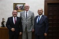KAZıM KURT - Belediye Başkanlarından Kazım Kurt'a Ziyaret