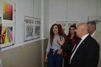 MUSTAFA TALHA GÖNÜLLÜ - Güzel Sanatlar Fakültesi Öğrencileri Hünerlerini Sergiledi
