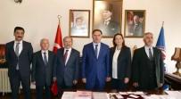 BAŞDENETÇİ - Kamu Başdenetçisi Şeref Malkoç Açıklaması 'Sorunlarının Çözümüne Katkımız Olursa Memnun Oluyoruz'