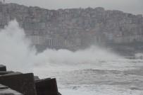 KUZEY EGE - Meteorolojiden Denizlerde Fırtına Uyarısı