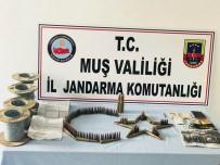 UÇAKSAVAR MERMİSİ - Muş'ta Terör Operasyonu