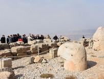 YABANCI TURİST - Nemrut Dağı'nı 9 ayda 52 bin kişi gezdi