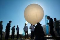 DAĞLıCA - Liseliler 'Yüksek İrtifa Balonu' İle Uzaydan Görüntü Çekti