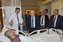 ALI AYDıN - Rektör Gönüllü'den Hastaya Ziyaret Etti