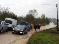 KİREMİTHANE - Askeri araç sele kapıldı! 1 asker kayboldu