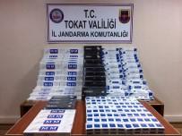 TRAFİK KANUNU - Tokat'ta Su Kolisine Gizlenmiş 3 Bin Paket Kaçak Sigara Ele Geçirildi
