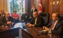 BÜLENT TURAN - Turan Ve Gider Muhtarları Ağırladı