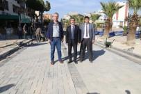 KANALİZASYON ÇALIŞMASI - Turgutlu'nun Prestij Caddesi Hızla İlerliyor