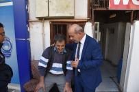 MERKEZ EFENDİ - Tuvalette Yaşamını Sürdüren Adama Belediye Sahip Çıktı
