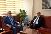 YıLMAZ ŞIMŞEK - Yeni Belediye Başkanı, Vali'yi Ziyaret Etti
