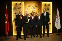 HİDAYET TÜRKOĞLU - Bakan Bak, FIBA Yetkililerini Kabul Etti