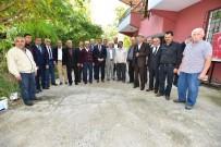 NEBIOĞLU - Başkan Gürkan Asfalt Çalışmasını Yerinde İnceledi