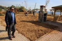 DENİZ FENERİ - Başkan Karabacak, Sahil Çalışmalarını İnceledi