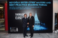 BEYOĞLU BELEDIYESI - Beyoğlu Belediyesi'nin Kardeş Belediye Başkanları İstanbul'da