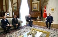 ALI KOÇ - Cumhurbaşkanı Erdoğan, TÜSİAD Heyetini Kabul Etti