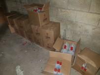 İÇKİ ŞİŞESİ - Gaziantep'te Sahte İçki Operasyonu
