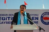ŞARK KÖŞESI - Genel Başkan Ali Yalçın Kayseri'de Gençlik Merkezi Açılışı Yaptı