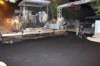 Hani'nin Salih Beg Caddesi Asfaltlanıyor