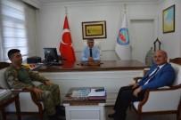TEOMAN - JÖH Komutanı Özsırkıntı'dan Kaymakam Özkan'a Ziyaret