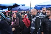 GÜVEN TİMLERİ - Kocaeli'de Polis Ekiplerinden 'Huzurlu Pazar' Uygulaması