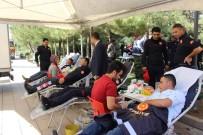 İTFAİYE ERİ - Mardin İtfaiyesinden Kan Bağışı