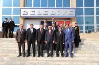 AYDIN DOĞAN - Milli Eğitim Bakan Yardımcısı Erdem'den Erzincan Belediyesine Ziyaret