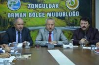 MUSTAFA ÇETİNKAYA - Orman Bölge Müdürlüğü'nde 2/B Çalışmaları Değerlendirme Toplantısı Düzenlendi